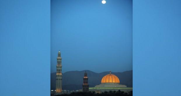 اكتمال قمر شهر رمضان