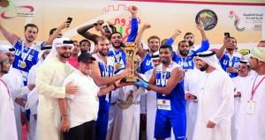 ختام بطولة الأندية الخليجية الثامنة والثلاثين لكرة السلة