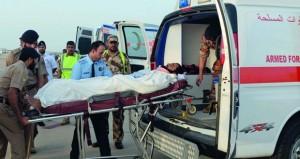 سلاح الجو السلطاني العماني ينقل بإحدى طائراته مواطنين في حالة حرجة من المملكة العربية السعودية