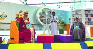 """برنامج المسابقات """"دفتري""""سفر معرفي مع الشخصيات العمانية وعلماء المسلمين وإثراء للجانب اللغوي للطفل وتشجيعه على القراءة"""