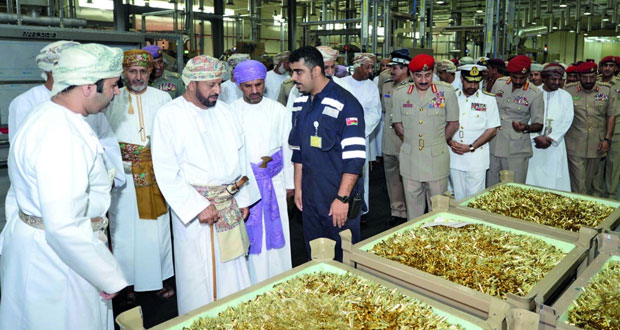 افتتاح مصنع إنتاج ذخائر الأسلحة الخفيفة رسميا