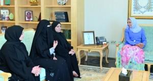 وزيرة التربية والتعليم تستقبل وفدا تربويا قطريا