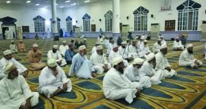 محاضرة بالجبل الأخضر حول كيفية استقبال شهر رمضان