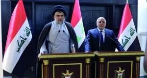 العراق: الصدر يلتقي العبادي لتشكيل حكومة جديدة شاملة