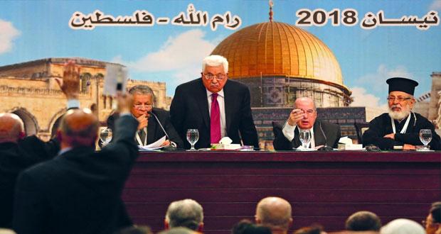(الوطني الفلسطيني) يؤكد رفضه (صفقة ترامب) ويعتبرها إنهاء لعملية السلام