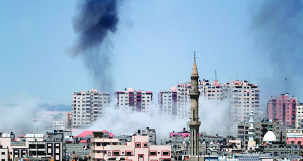 شهيد بقصف مدفعي إسرائيلي .. وسلسلة غارات على قطاع غزة