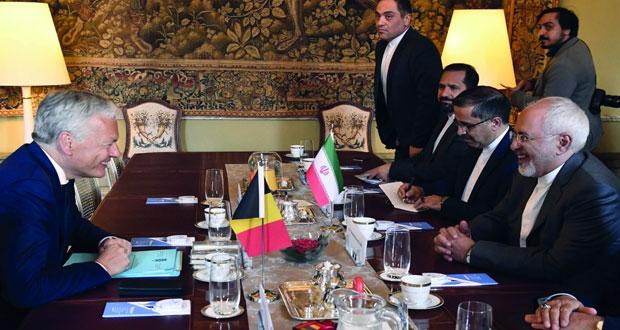 وزير الخارجية الإيراني يبحث مع موجيريني (الملف النووي)