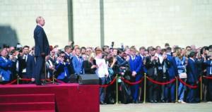 روسيا : بوتين يؤدي اليمين ويسمي مدفيديف رئيسا للحكومة