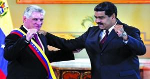 الرئيس الكوبي يحشد الصفوف بكراكاس في مواجهة (الامبريالية)