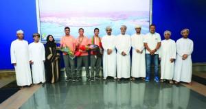 استقبال حافل لمنتخبنا المدرسي المشارك في بطولة الجمنزياد العالمي