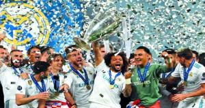في دوري أبطال أوروبا: إصابة صلاح وهفوات حارس ليفربول تمنح ريال مدريد لقبه الثالث تواليا