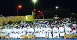 فريق العربي بمنح يحتفل بتكريم لاعبيه المتوجين بكأس بطولة المركز الترفيهي الرابعة