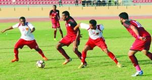 تواصل منافسات بطولة الجيش السلطاني العماني لكرة القدم