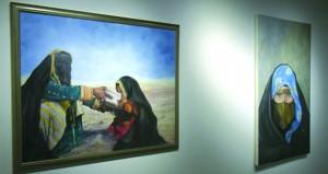 """""""نفحات من الماضي"""" ينقل التراث القطري في 15 لوحة تشكيلية"""