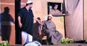 """نادي السلام بولاية لوى يقدم العرض المسرحي """"خروج عن النص"""""""