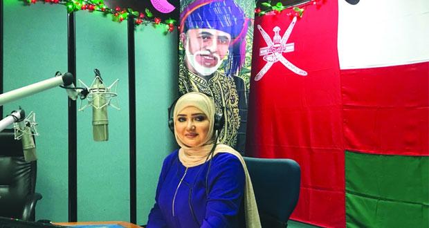برامج مباشرة متنوعة لإذاعة وتلفزيون سلطنة عمان في أيام عيد الفطر السعيد