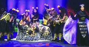 «قطر المسرحية» تواصل عروض مسرحية الأطفال الاستعراضية «عسل يا وطن»