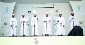 تقييم مسابقة الإنشاد لبرنامج شبابي بنادي الرستاق