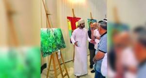 """مشاركة عمانية في معرض """"حكايات لونية"""" بالشارقة"""