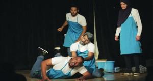 """مجموعة بصمة للمسرح تقدم العرض المسرحي """"بين الحلم والحقيقة""""بنخل"""