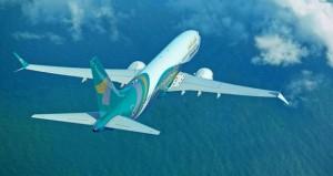 الطيران العُماني يستلم طائرته الثالثة من طراز بوينج 737 ماكس 8