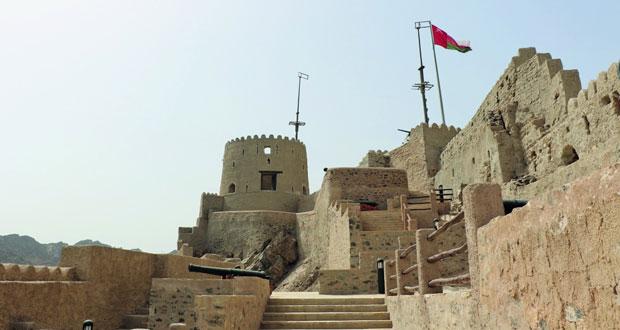 افتتاح المرحلة الأولى لقلعة مطرح أمام السياح