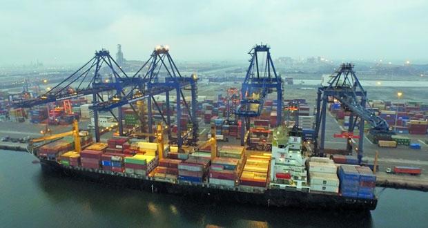 """""""مرافي"""" و""""دولفين القطرية"""" توقعان اتفاقية المساهمين لبناء رصيف لتصدير الأحجار والمعادن بميناء صحار"""