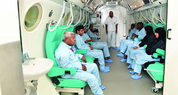 الأسبوع القادم .. إفتتاح مشروع المركز الوطني لطب الأعماق بالمستشفى السلطاني