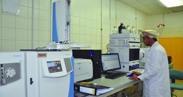 «1484» إجمالي عدد عينات مركز مختبرات الأغذية والمياه خلال الربع الأول من عام 2018م