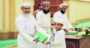 مدرسة القرآن الكريم بجامع السلطان قابوس بصور تحتفل بختام العام الدراسي