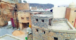 مسفاة العبريين .. بيوت أثرية تحكي عراقتها وأصالتها وتجذرها التاريخي