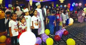 جمعية رعاية الأطفال المعوقين تحتفل بالقرانقشوه وسط فرحة الأطفال
