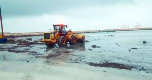 بلدية ظفار تواصل جهودها لتهيئة المواقع السياحية