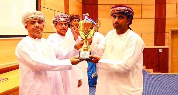 إسدال الستار على المسابقات الرمضانية في عدد من قيادات شرطة عمان السلطانية