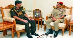 بحث مجالات التعاون العسكري بين السلطنة وبروناي دار السلام