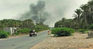اليمن : قوات هادي تسيطر على مطار الحديدة وتتقدم نحو مينائها