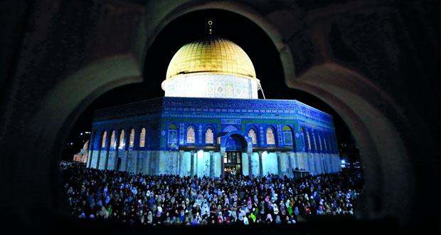 350 ألف مصل يحيون ليلة القدر في المسجد الأقصى