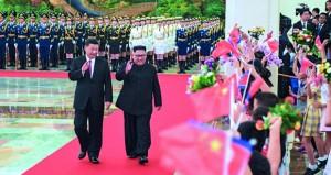 كوريا الشمالية تشيد بالوحدة مع الصين .. وحديث عن تسليمها واشنطن رفات جنودها من قتلى الحرب الكورية