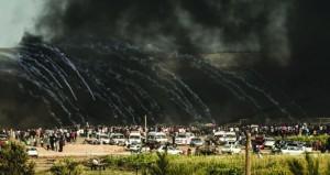 الاحتلال يمعن في جرائمه ويواصل استهداف المدنيين والصحفيين والمسعفين بغزة