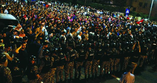 الأردن : تجدد الاحتجاجات ضد قانون ضريبة الدخل ورفع الأسعار