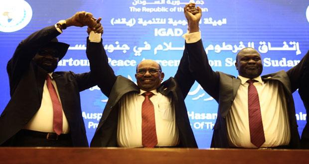 السودان : فرقاء الجنوب يوقعان اتفاقا لوقف دائم لإطلاق النار
