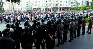 الحكومة المغربية تؤكد استقلالية القضاء على وقع احتجاجات ضد أحكام منفذي (حراك الريف)