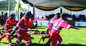 زيمبابوي : إصابة 49 جراء انفجار في تجمع سياسي