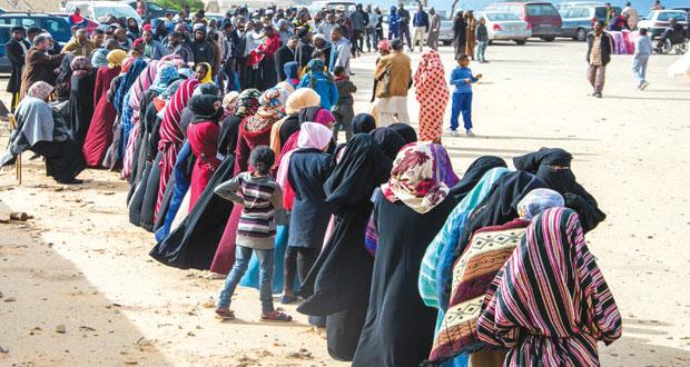 النازحون من بنغازي .. اختبار لليبيا