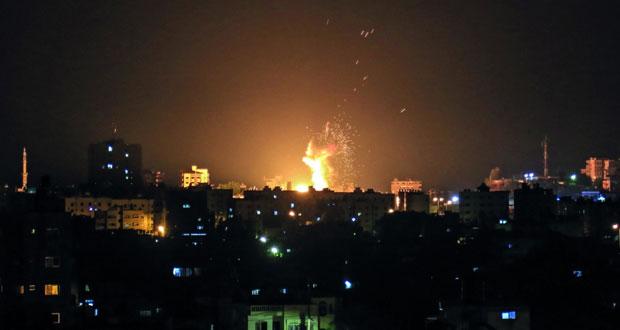 الاحتلال يقصف مواقع للمقاومة بغزة وينشر جنوده بمحيط القطاع