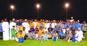 ختام بطولة صحار ألمنيوم الثانية لكرة القدم