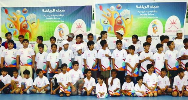 تدشين صيف الرياضة بمحافظة البريمي