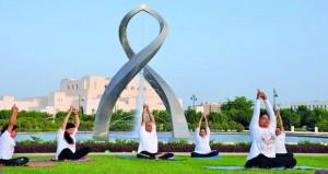 الأولمبية العُمانية تحتفل باليوم العالمي لليوجا