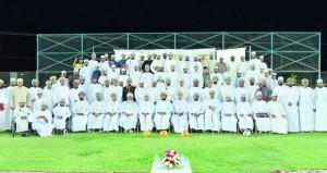 بنك مسقط يحتفل بافتتاح الملعب المعشب الجديد لفريق الحزم بولاية الرستاق