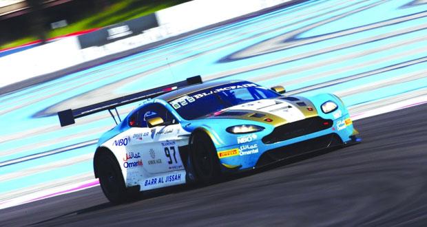 فريق عمان لسباقات السيارات يخوض تجارب نهائية جيدة ما قبل سباق الجولة الثالثة بفرنسا